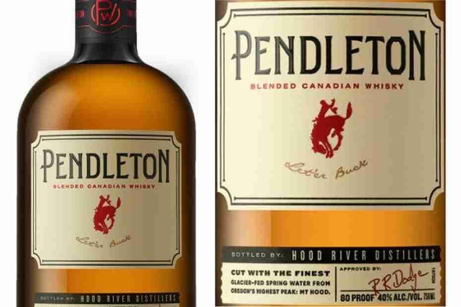 Pendleton Premium Whiskey Brand